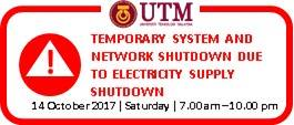 Temporary System Shutdown
