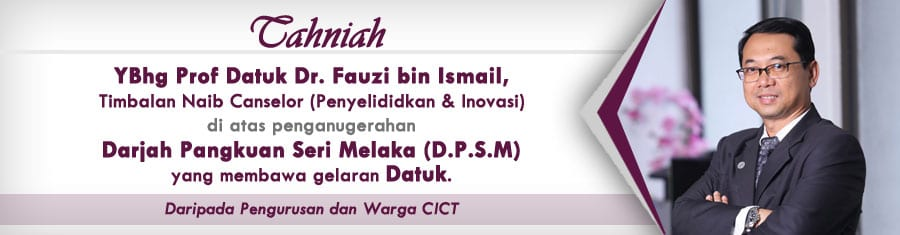 Tahniah Prof Datuk Dr Fauzi Ismail (TNC P&I)