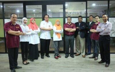 Lawatan Kerja Institut Penyelidikan Sains dan Teknologi Pertahanan (STRIDE) Ke Universiti Teknologi Malaysia (UTM)